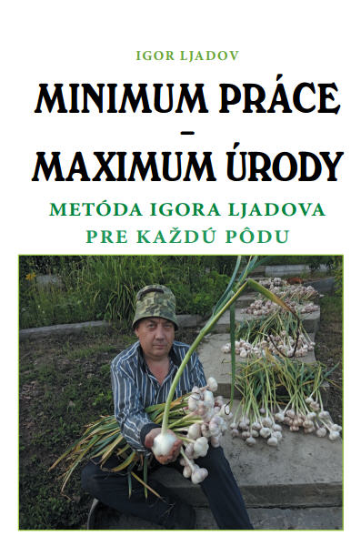 Minimum prace - Maximum úrody obalka